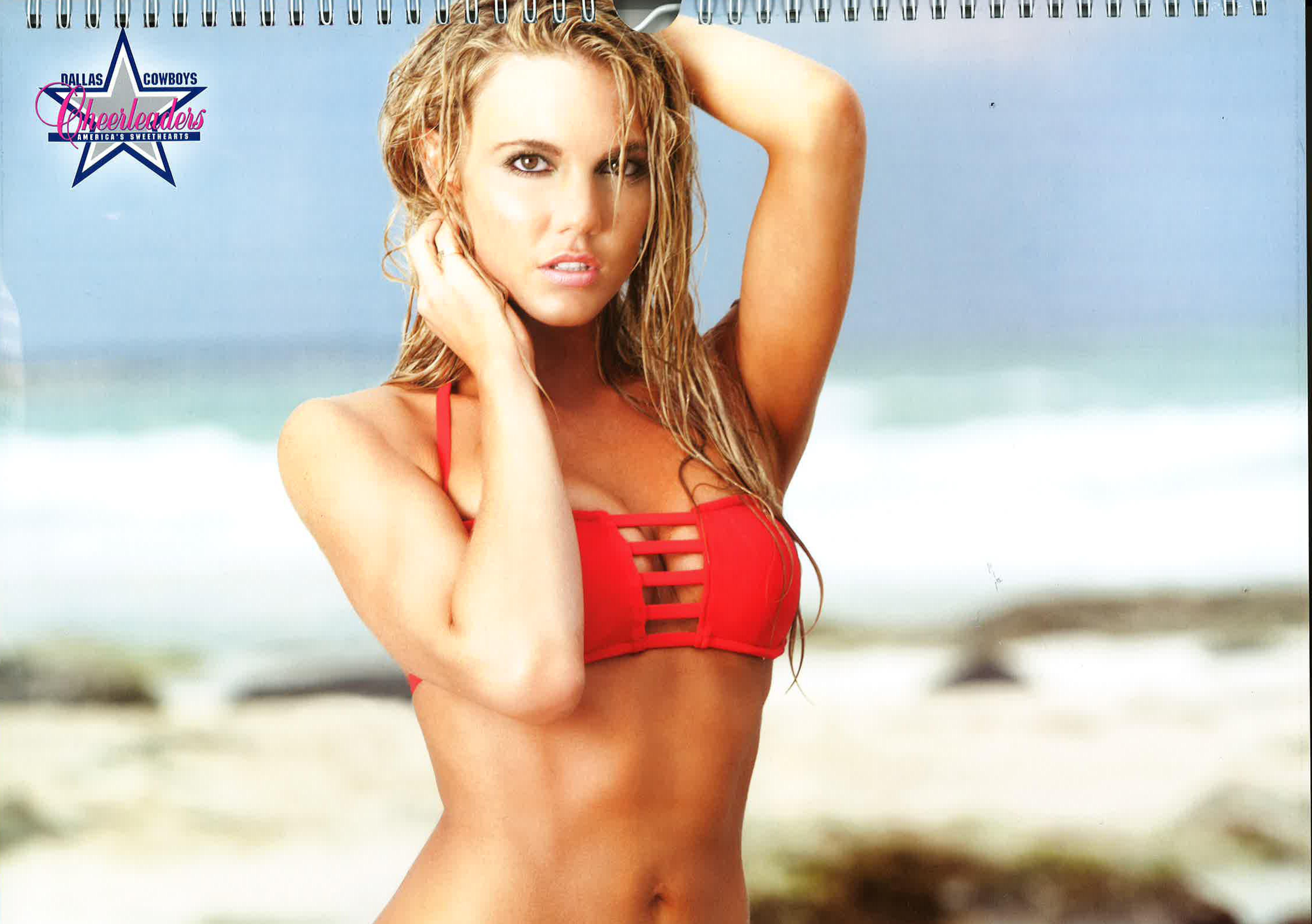 dallas cowboys cheerleaders bikini calendar
