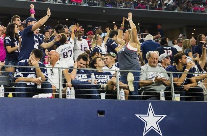 Dallas Cowboys: Patriots writers rip Cowboys' 'helpless, hopeless ...