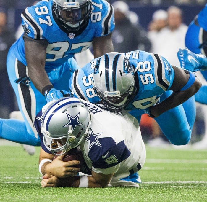 Cheap NFL Jerseys Wholesale - Dallas Cowboys: Watch and grade Cam Newton's touchdown dance ...