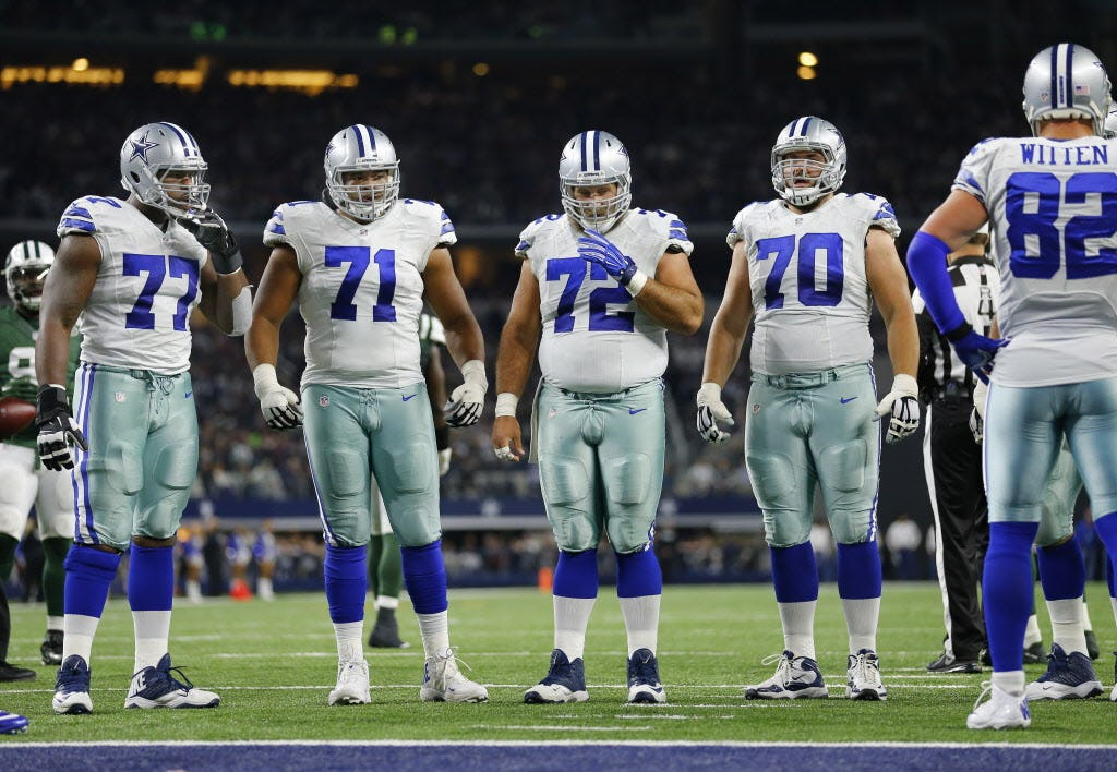 Image result for dallas cowboys offensive line