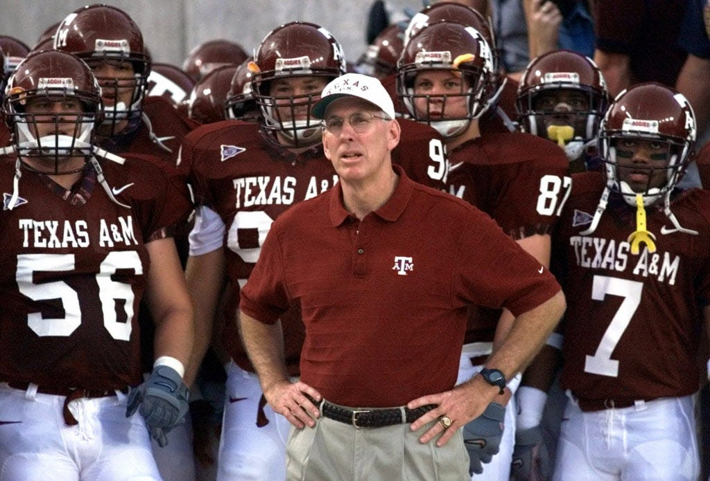 R.C. Slocum's spot on CFP selection committee could be jeopardized by appointment as Texas A&M's interim AD