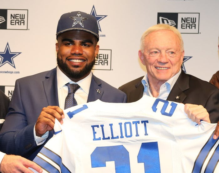 Dallas Cowboys Ezekiel Elliott YOUTH Jerseys