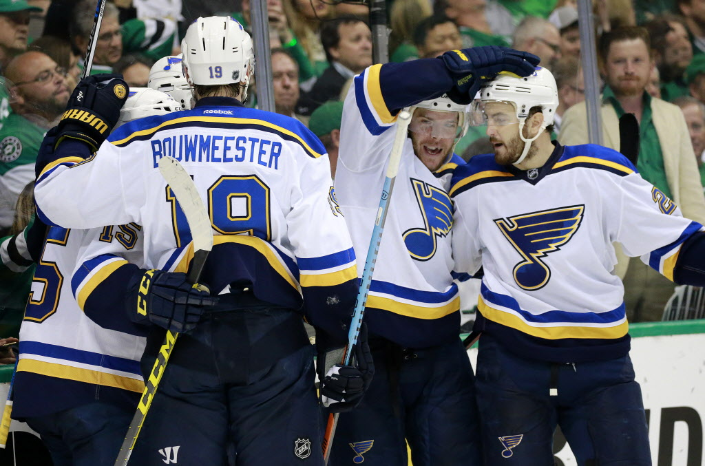 Dallas Stars: David Backes - Blues' Beatdown A Product Of 'most Complete Game' Of Series Against Stars