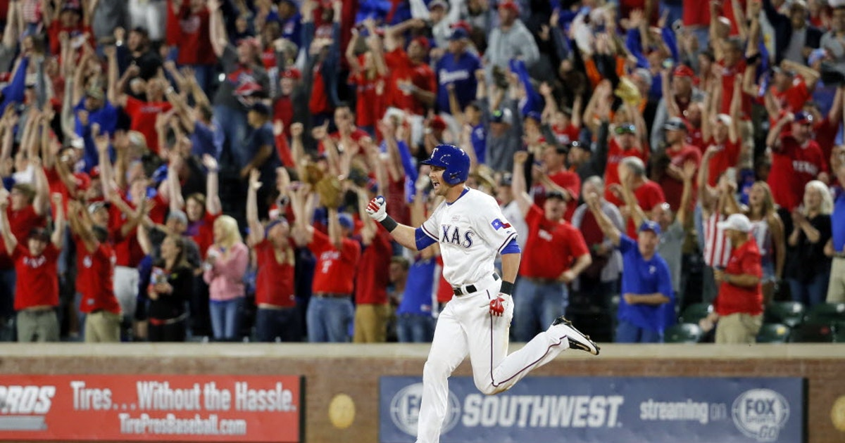 Texas Rangers: Drew Stubbs' walk-off home run propels Rangers to first extra innings victory of season   SportsDay