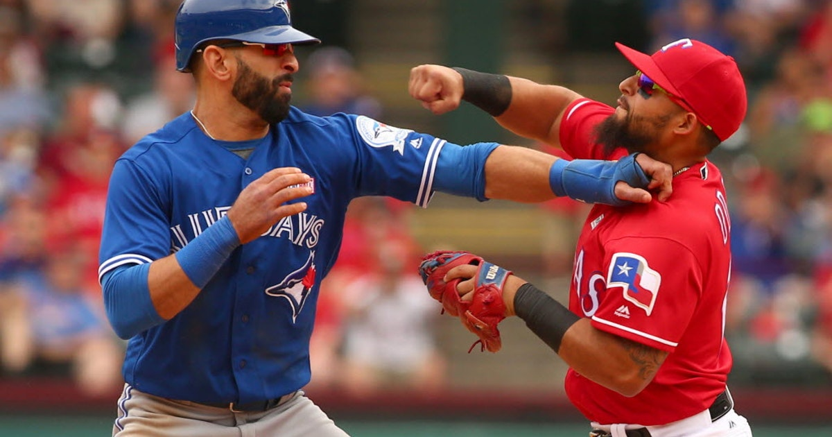 Texas Rangers: Sherrington: Pick on someone your own size, Blue Jays, because little Rougned Odor clearly is too big for you | SportsDay