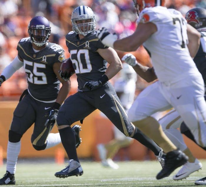 2016 NFL Pro Bowl Dallas Cowboys #77 Tyron Smith Black Elite Stitched Jersey
