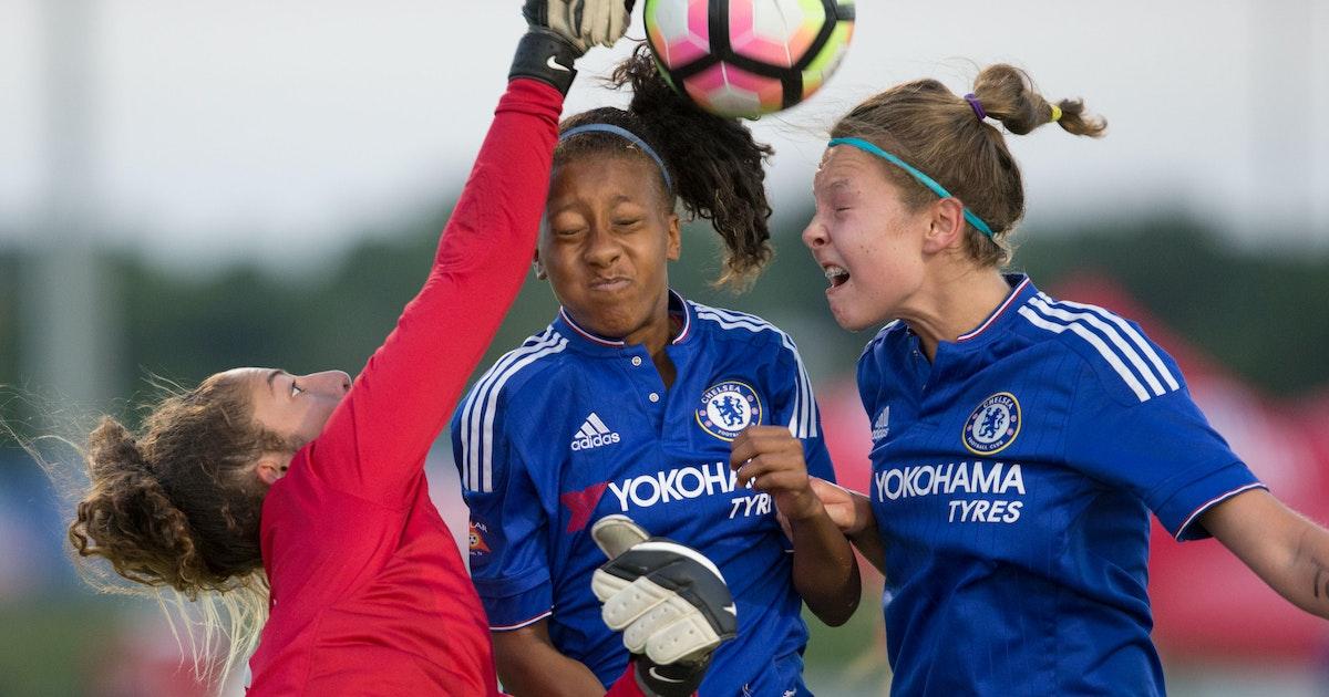 Red girls Solar wins U13 Soccer: Chelsea team  2016 Dallas
