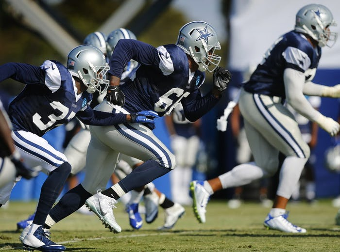 Jerseys NFL Sale - Dallas Cowboys: Cowboys rookie Dak Prescott explains why he doesn ...