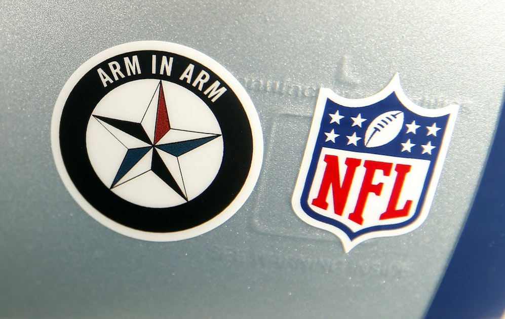 sportsday.dallasnews.com - NFL won't allow Dallas Cowboys to wear Arm in Arm decal on their helmets during any games | SportsDay