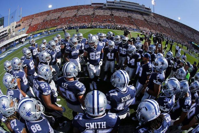 Cheap NFL Jerseys NFL - Dallas Cowboys: WATCH: Cowboys QB Dak Prescott doesn't look like a ...
