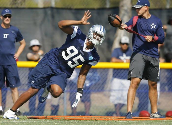 Jerseys NFL Online - Dallas Cowboys: Cowboys DE David Irving hopeful he can return from ...