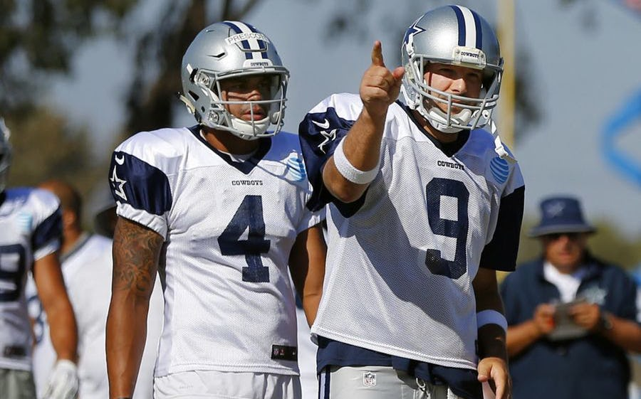 Image result for dak and romo