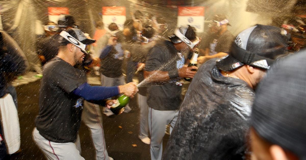 Cowboys Locker Room Celebration