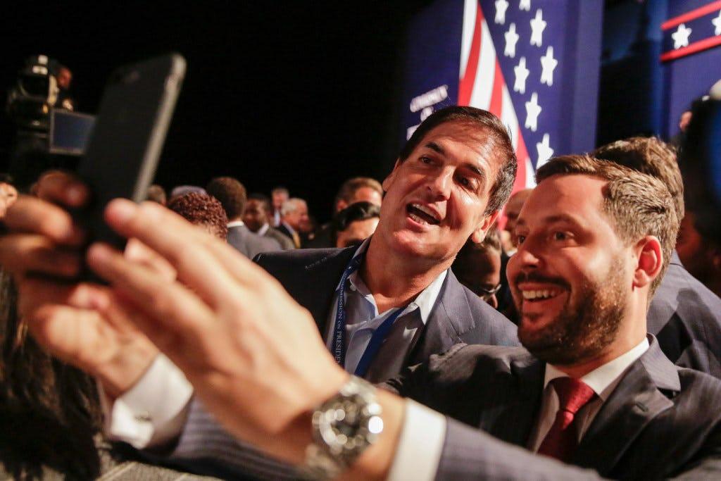 Image result for mark cuban presidential debate
