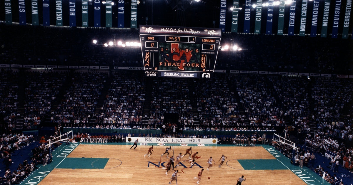College Sports: Dallas wooed '86 Final Four with 'state-of ...