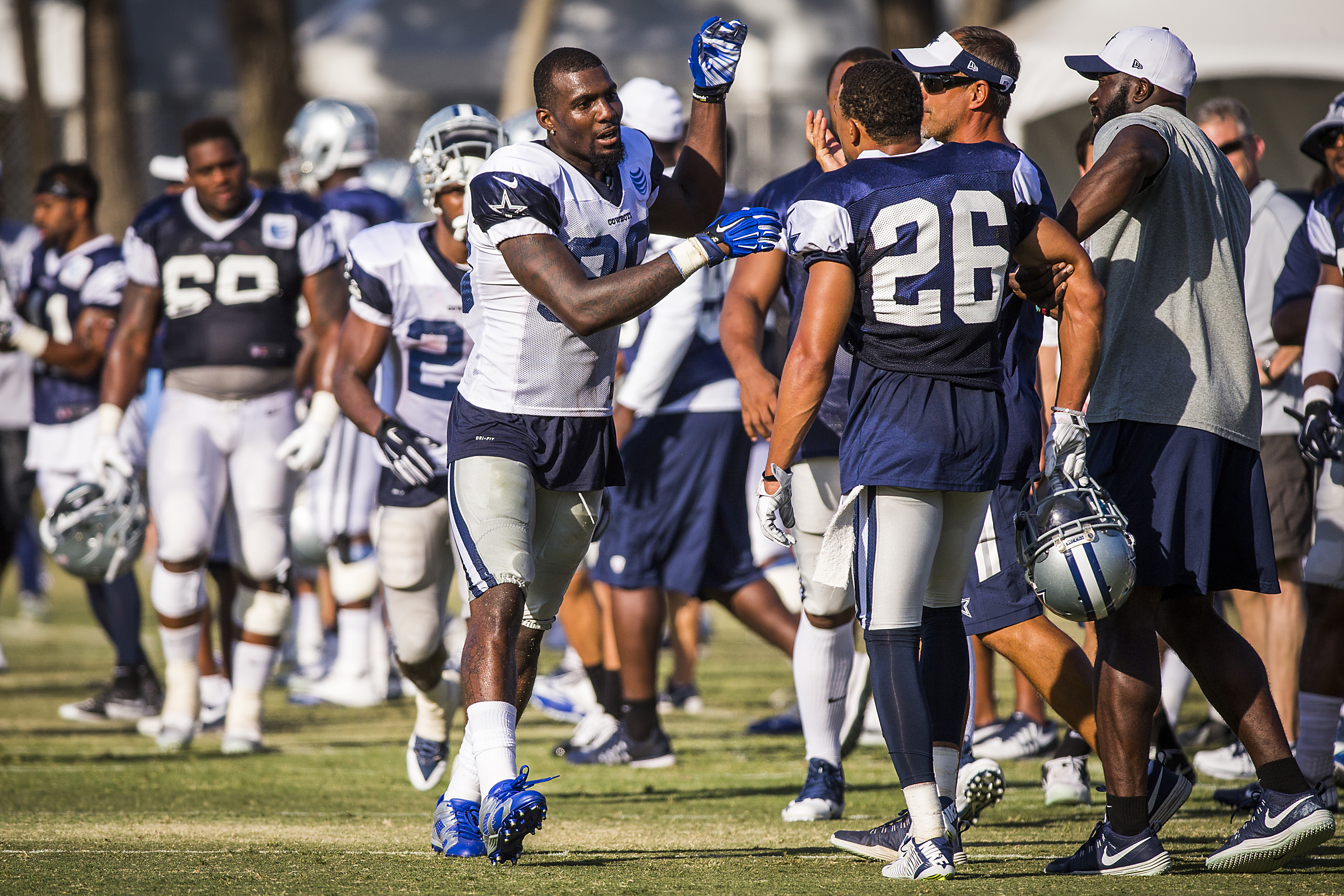 Dallas Cowboys s Dez Bryant Tyler Patmon into fight