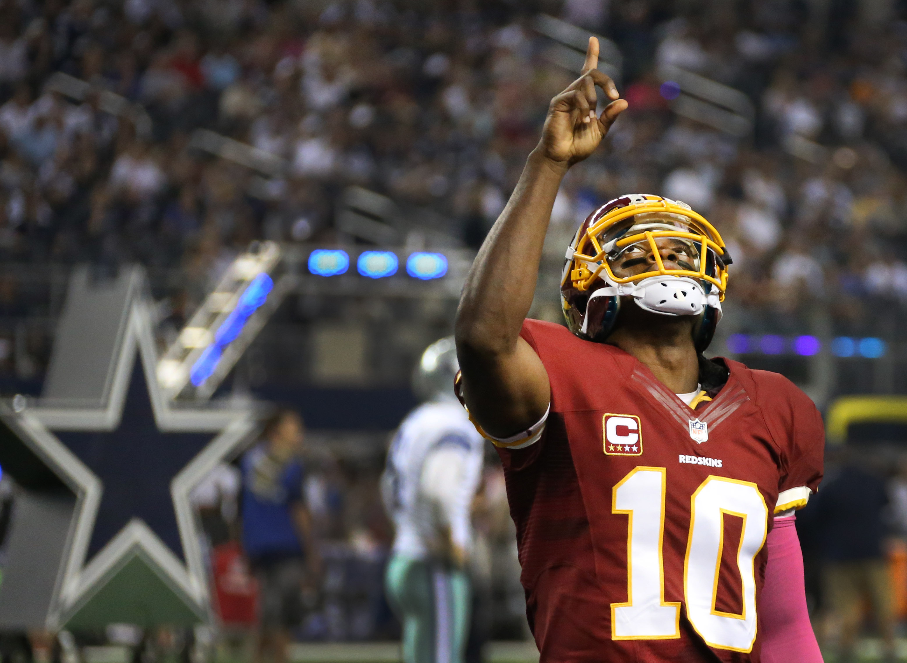 Dallas Cowboys might not face Redskins' Robert Griffin III again ...