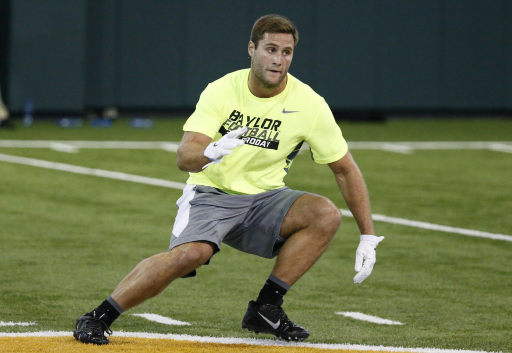 College sports: baylor nfl draft profile: bryce hager brings ...