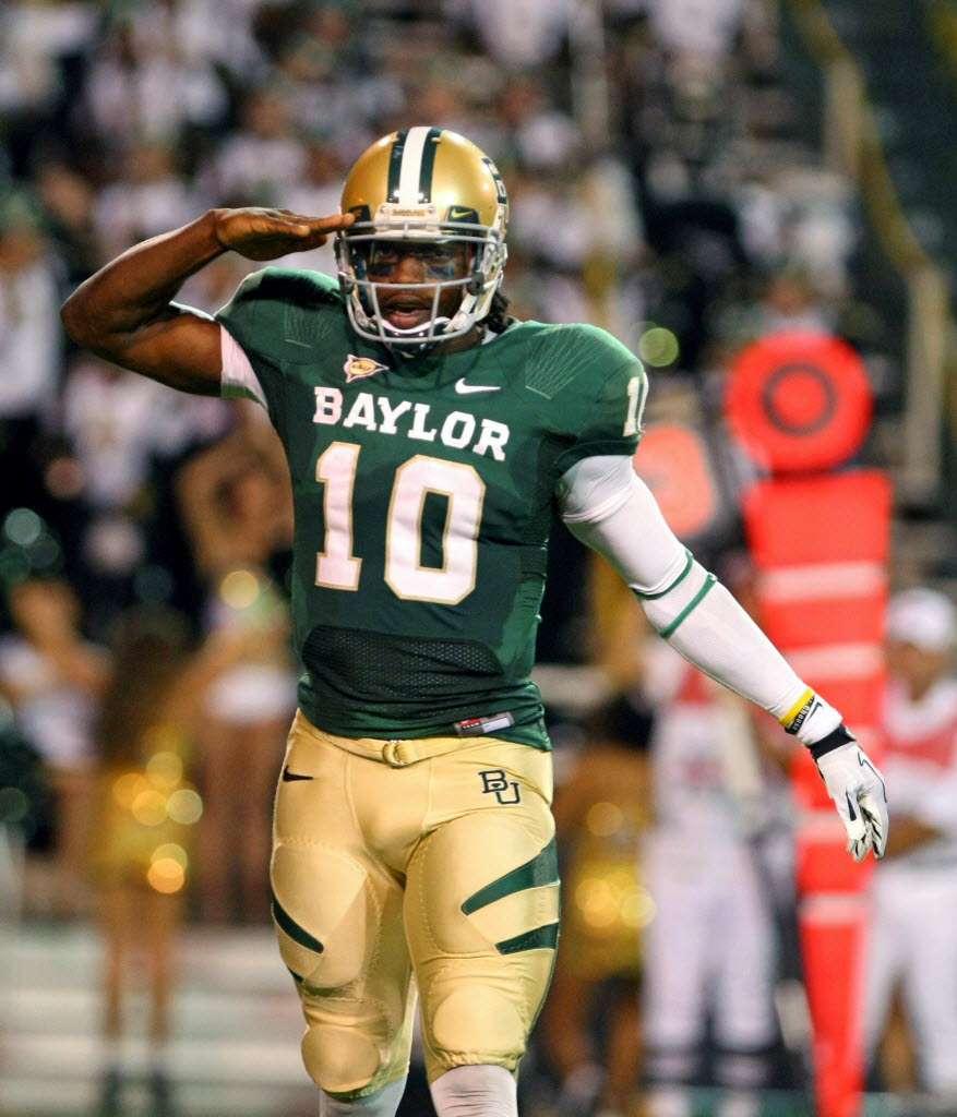 Baylor's Robert Griffin III relaxed, confident during impressive ...