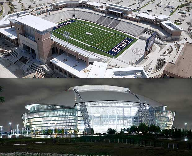 Southlake Carroll Football Stadium Pictures to Pin on ...