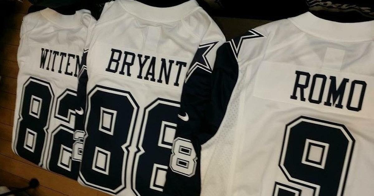 Dallas Cowboys  Cowboys new Color Rush jerseys unveiled  what do you think    3c02d7e6c