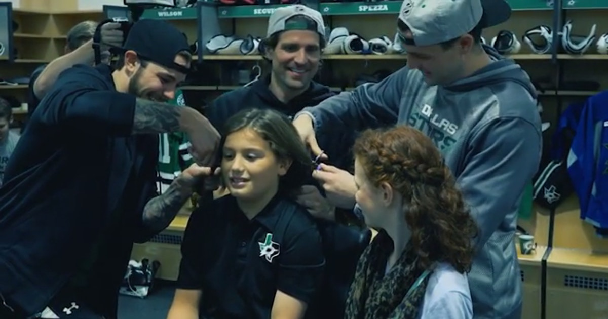 Dallas Stars Right In The Feels Stars Host 10 Year Old