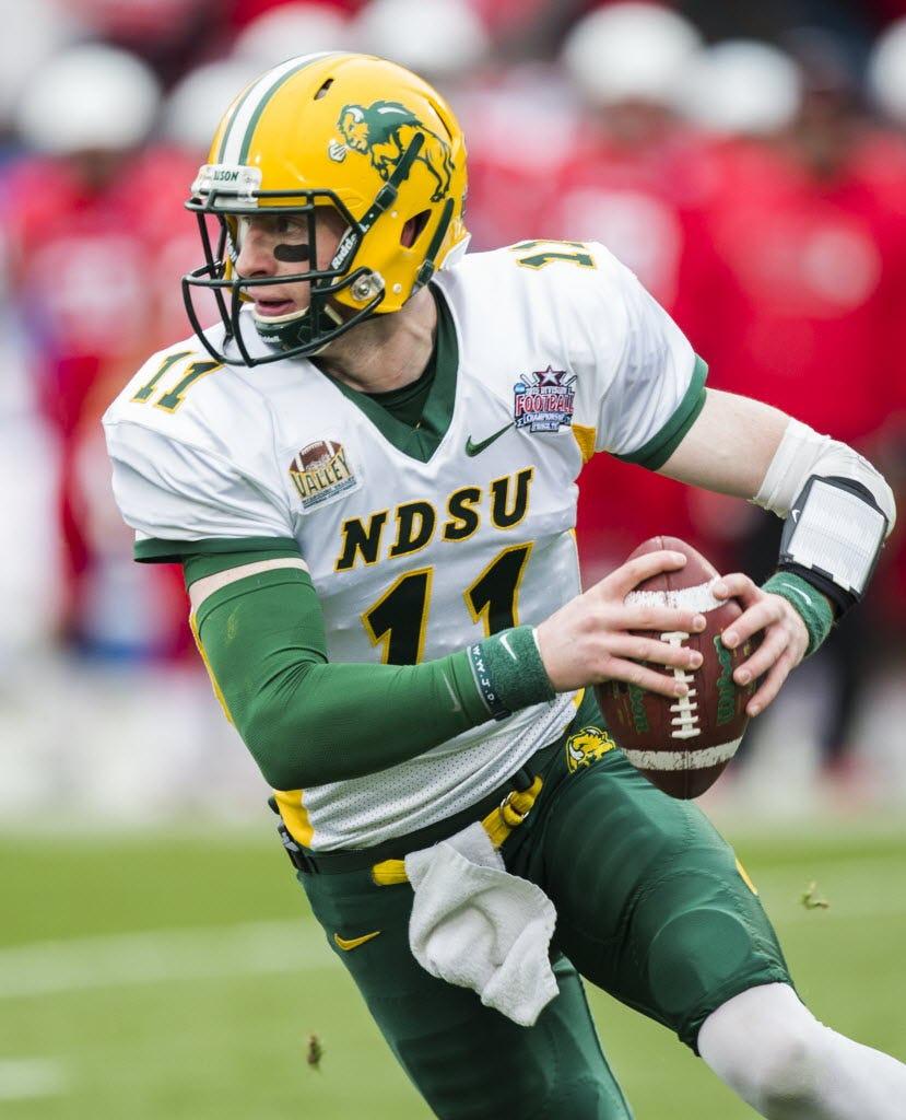 Tony Romo's heir? Sabin: Why Cowboys, other NFL teams are eyeing North Dakota State QB Carson Wentz