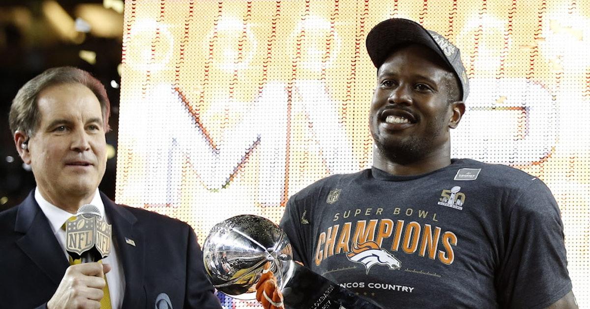 a234b22b Dallas Cowboys: DeSoto's Von Miller wins Super Bowl MVP: Former ...