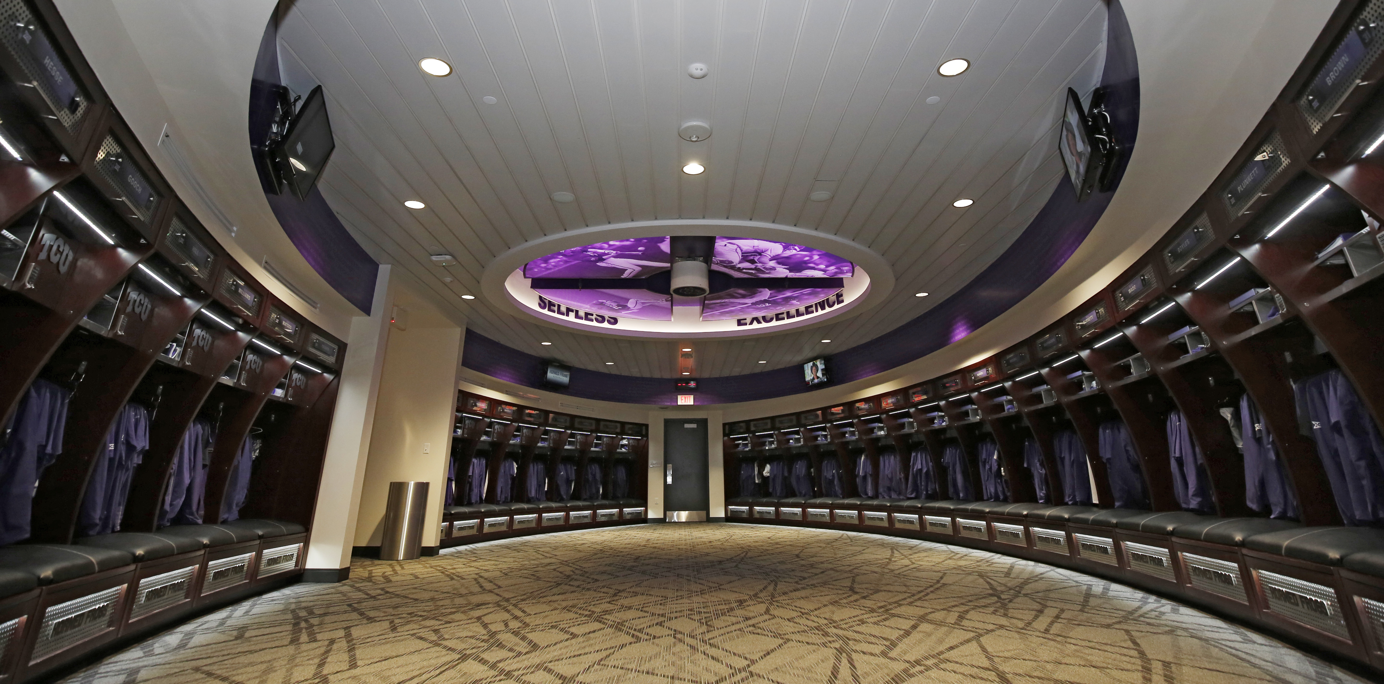 College Sports See Inside TCU Baseballs New Facilities At Lupton Stadium Plus Players Reaction To The Reveal