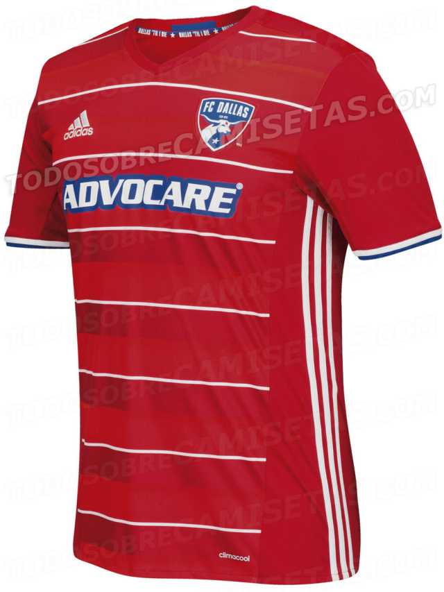 179bcb30fb2 Soccer  Could this leak show the new FC Dallas 2016-17 home kit ...