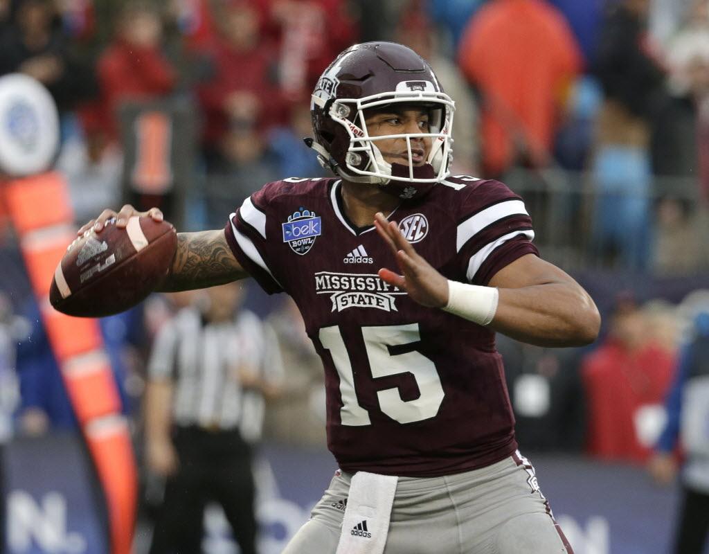 Cowboys draft quarterback Dak Prescott   SportsDay