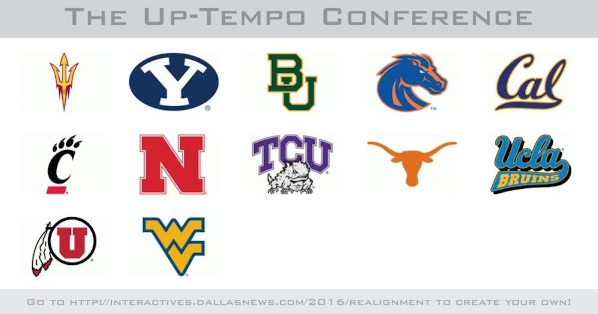 College Sports: What's your dream conference? Here are some of our