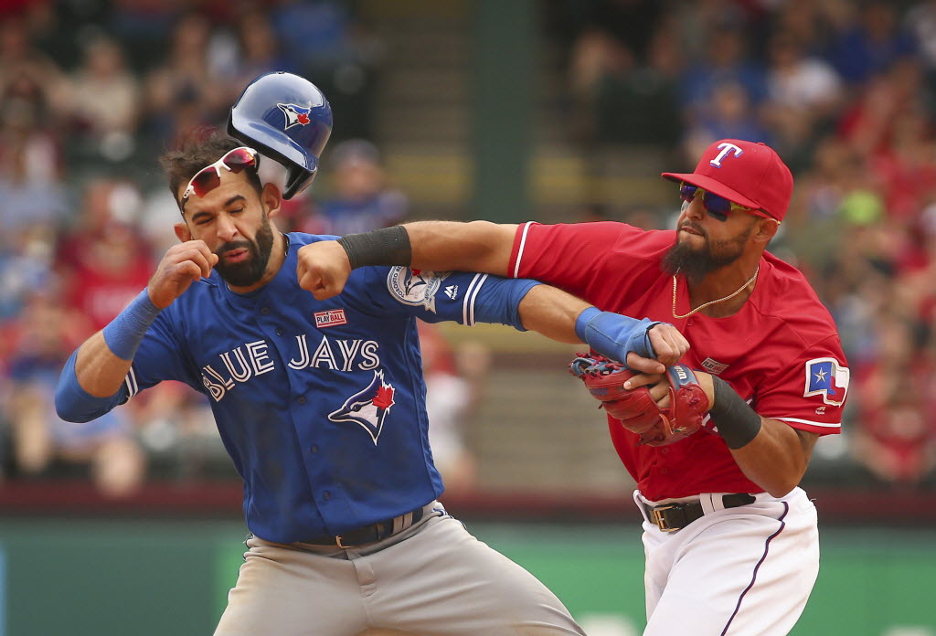 Rougned Odor S Suspension Reduced To 7 Games By Mlb Rangers To Call Up Profar