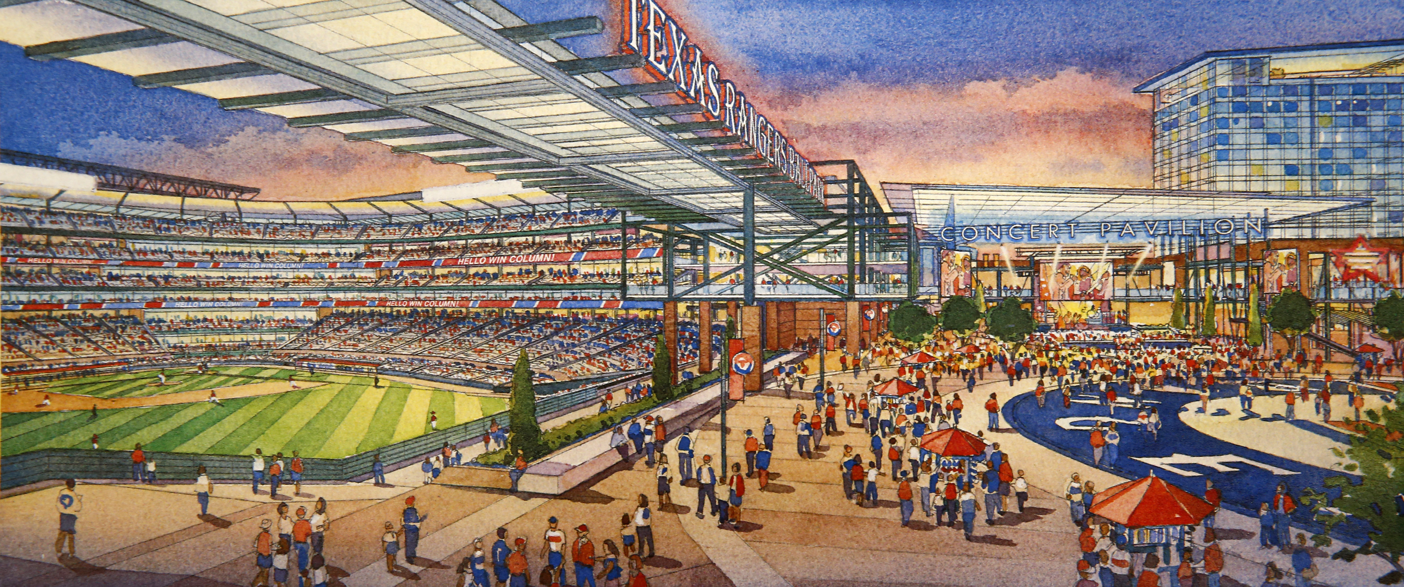 texas rangers rangers new stadium plans unveiled out what texas rangers rangers new stadium plans unveiled out what it will cost and timeline for its construction sportsday
