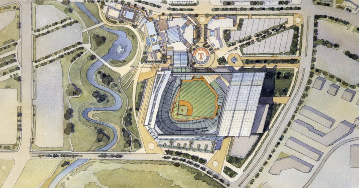 Texas Rangers Things To Know About The New Rangers Ballpark - Us map of baseball stadiums