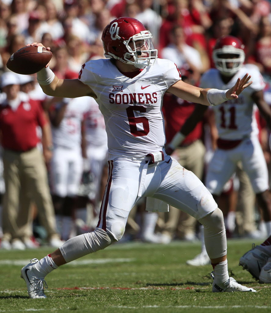 28844da33 College Sports  Big 12 reverses decision on Oklahoma QB Baker Mayfield