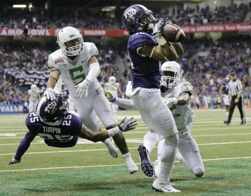 College Sports  Game-by-game predictions for TCU s 2016 season  Can the  Horned Frogs reload and make a run at the Big 12 title   25f7386a3