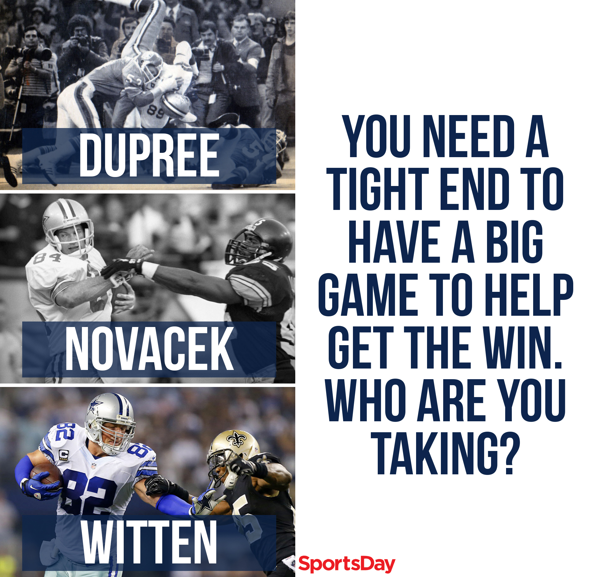 Can anyone challenge Jason Witten for the title of all-time greatest Dallas Cowboys tight end?