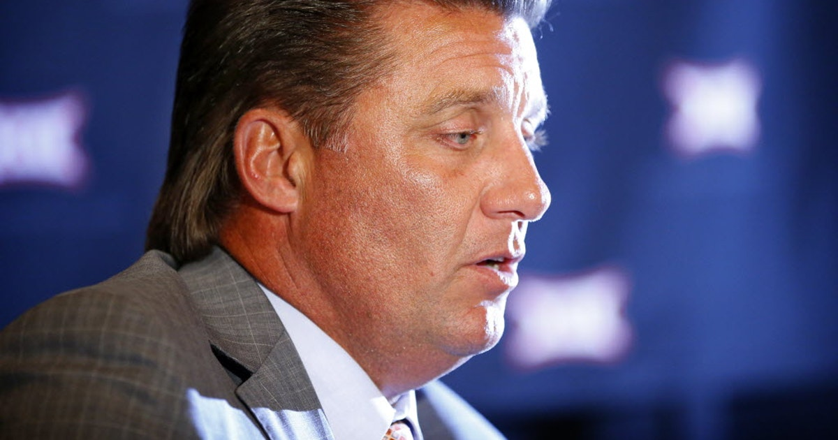 College Sports The Reason Oklahoma State Coach Mike Gundy Has This