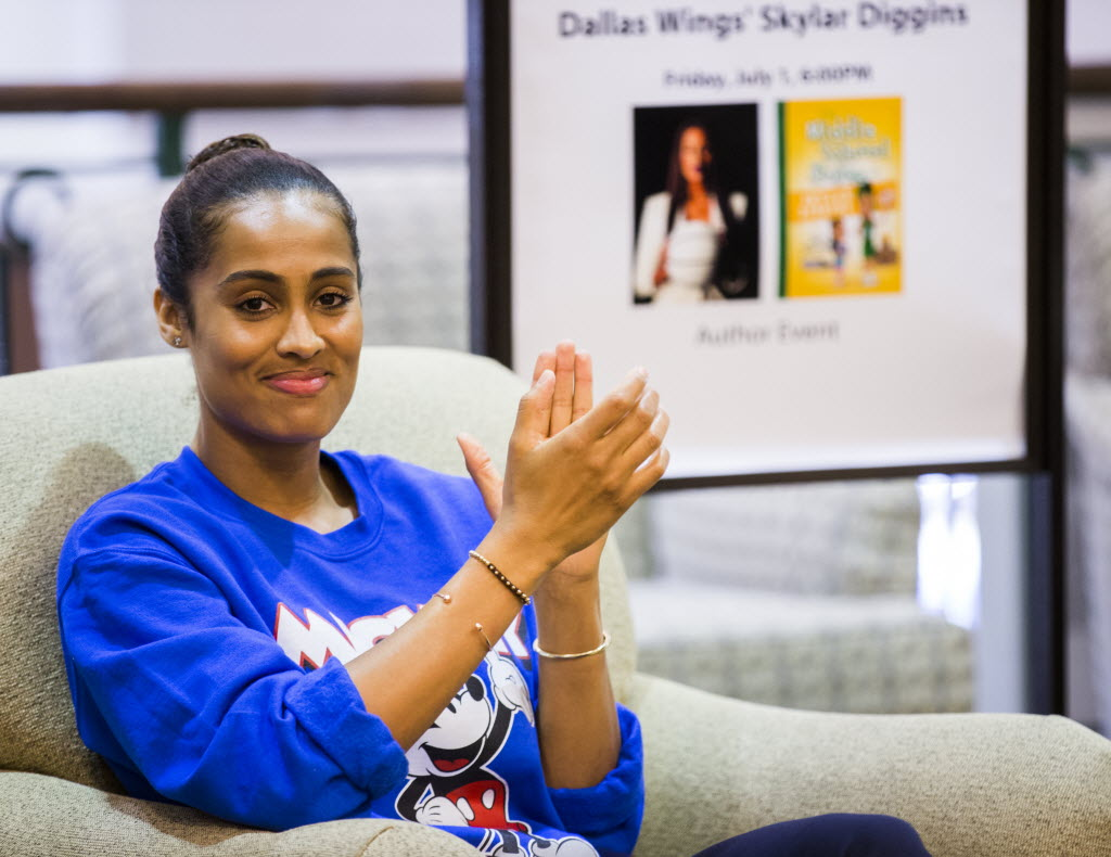 99a8cf46a9f6 Other Sports  Skylar Diggins talks Dallas  welcome to Wings ...