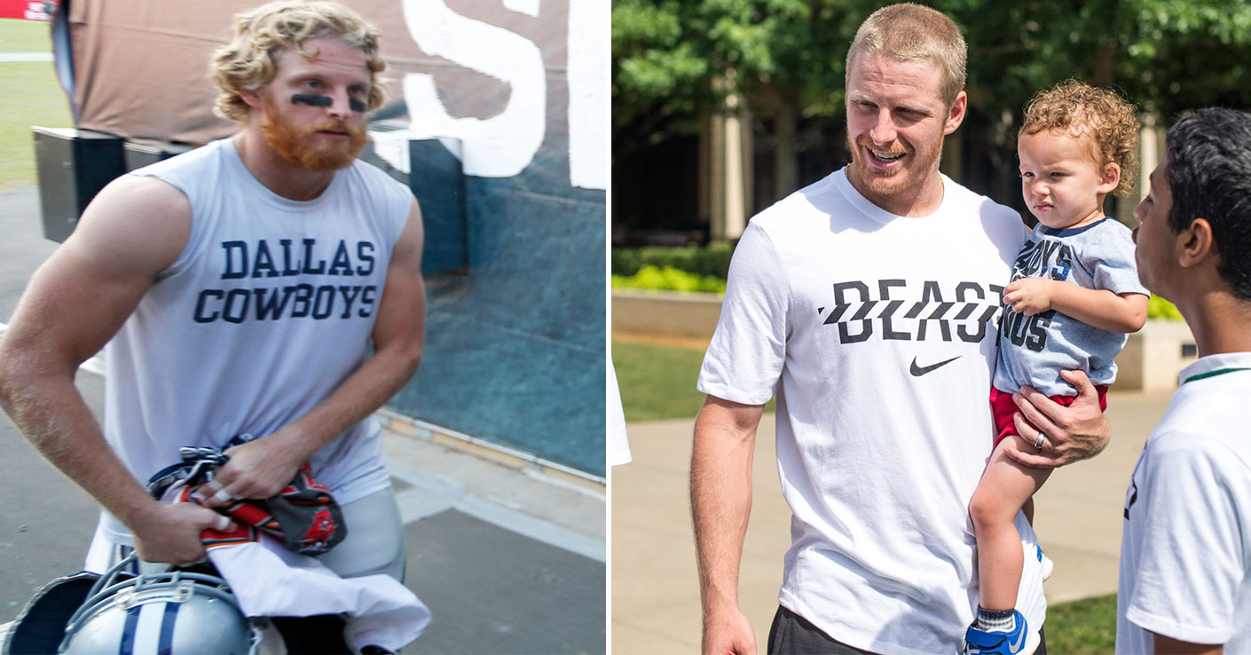 4ebf510fd30 Dallas Cowboys: Cowboys WR Cole Beasley explains why he chopped off his  hair, what he learned working out with Randy Moss | SportsDay
