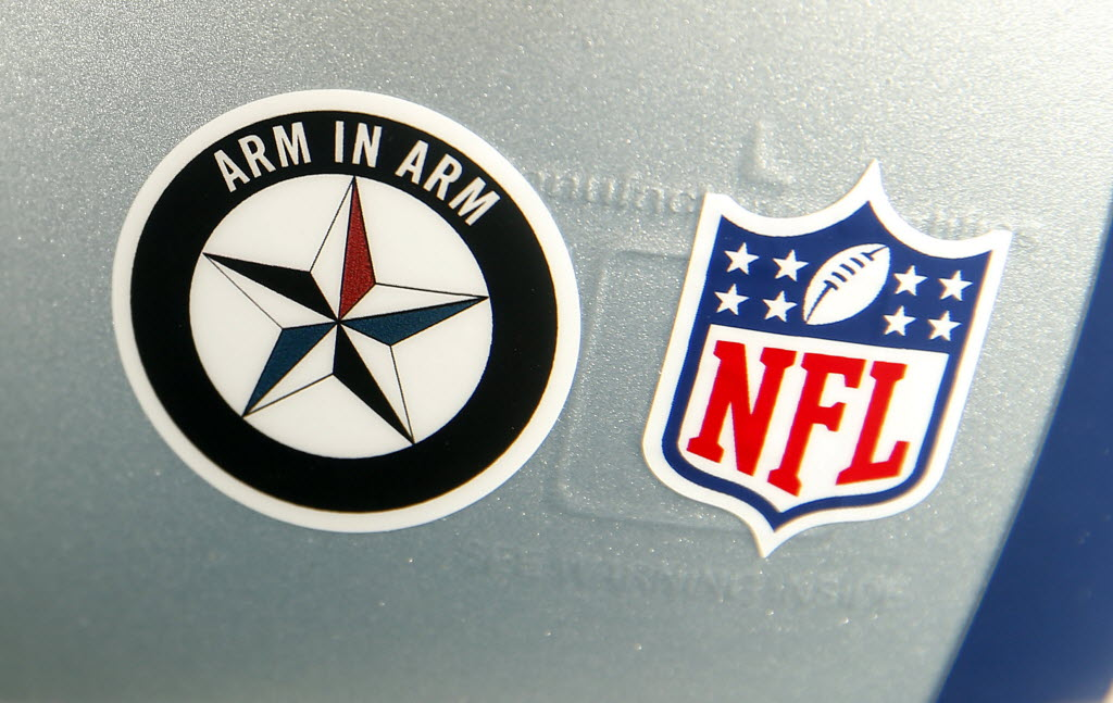 Dallas Cowboys Flashback Nfl Wouldnt Allow Cowboys To Wear Decal