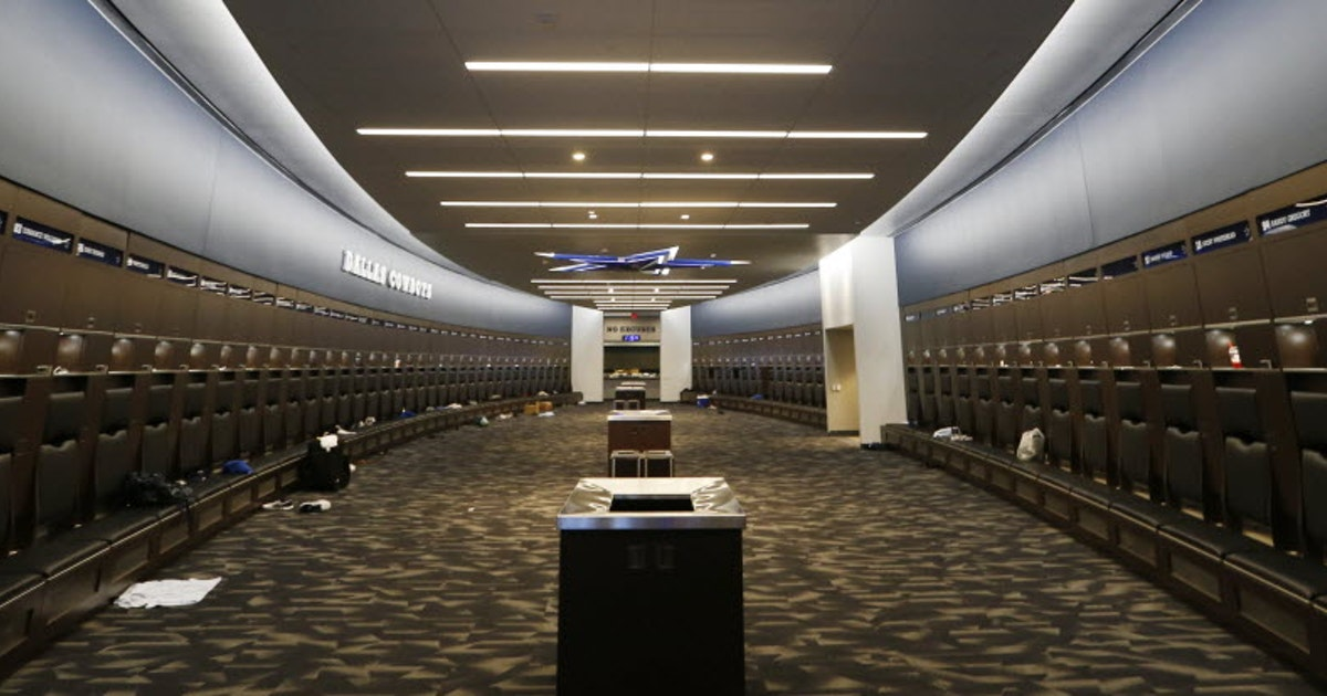 Baylor Locker Room