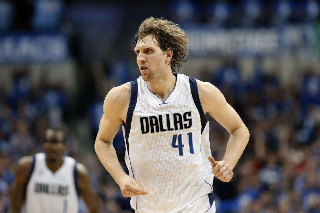 Mind over body: Dirk says starting lineup 'probably not going to be fastest' but has 'a lot of smarts'