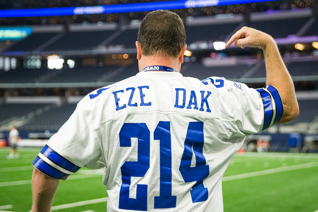 Report: Cowboys jersey sales already surpass last season as ...