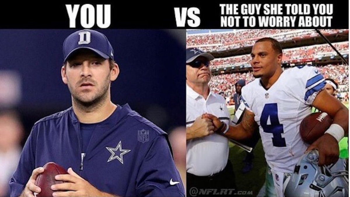 Dallas Cowboys Win Memes >> Dallas Cowboys: The 20 funniest memes of Cowboys' win over Packers, including the Brett Favre ...