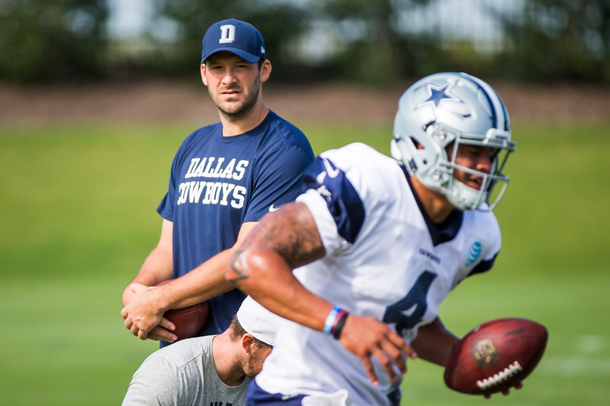 Dallas Cowbo... Quarterback Individual Drills