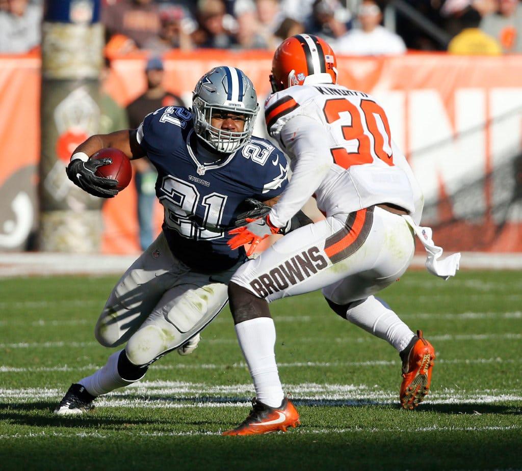 Whatever Cowboys need Ezekiel Elliott to do, he 'does it like breathing,' Steelers coach says
