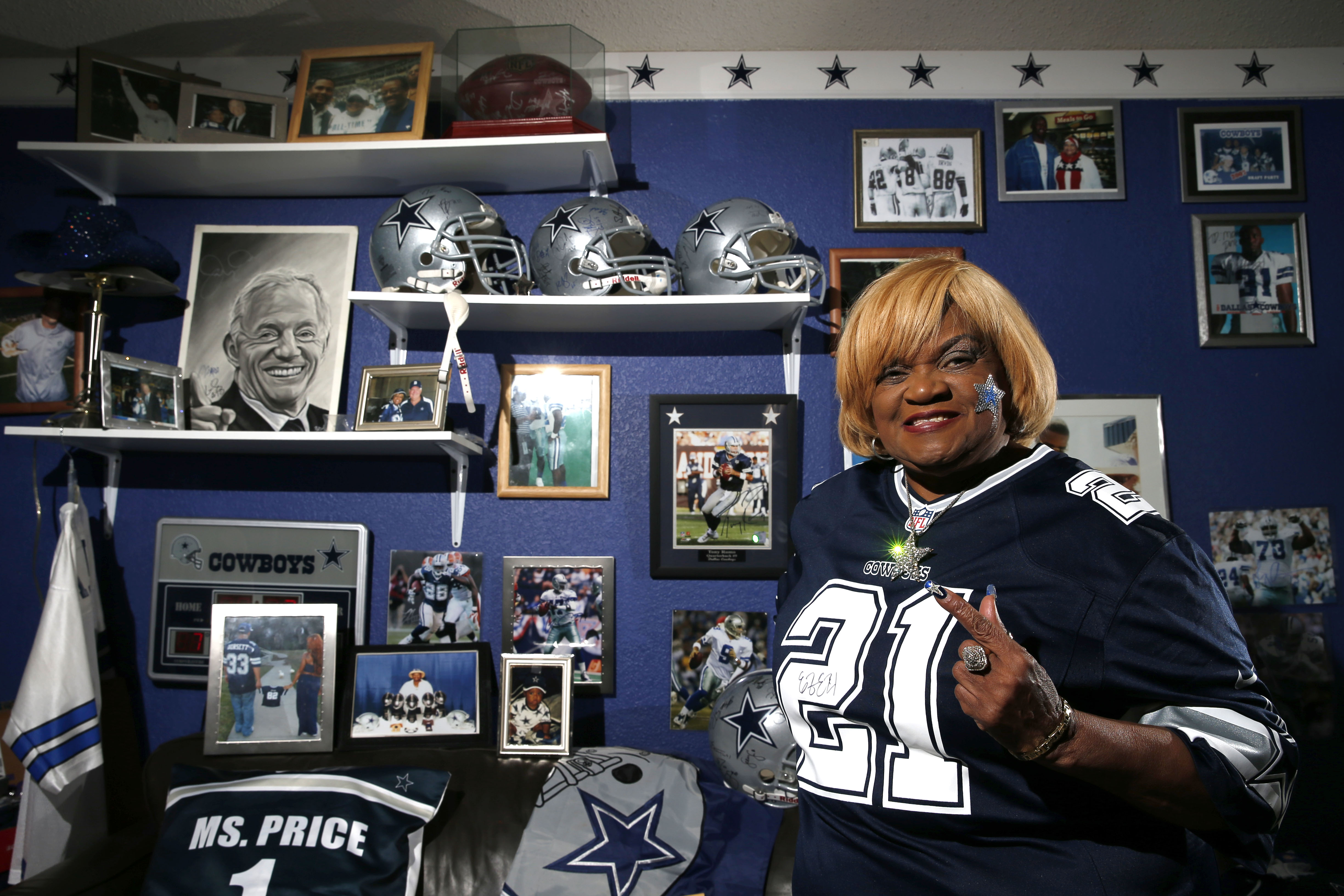 Dallas Cowboys Meet The Greatest Dallas Cowboys Fan Out There