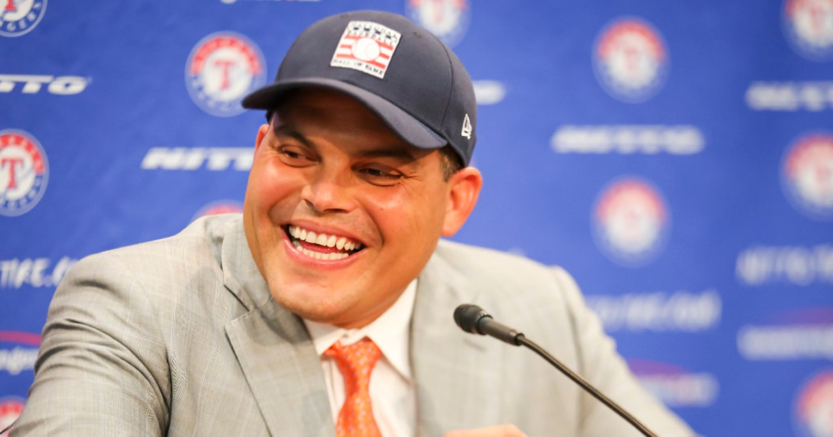 947281b03a8 Texas Rangers  Rangers will officially retire Pudge Rodriguez s No. 7 on  August 12 vs. Houston